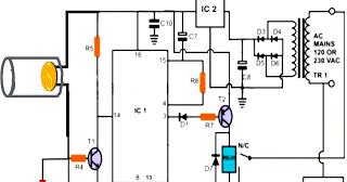 Secret Diagram: LBL Activated Remote Control Circuit Diagram