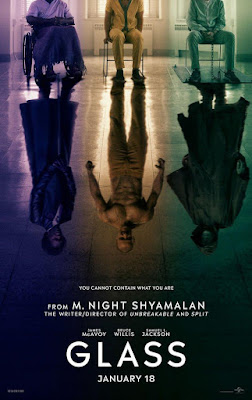 GLASS (Cristal) - M. Night Shyamalan  - cartel pelicula
