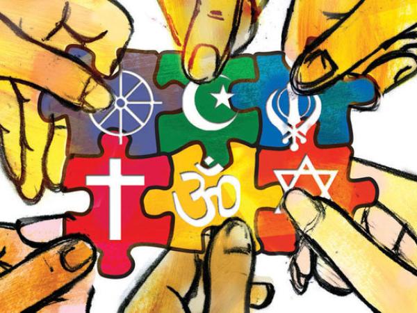 Yesus, Buddha, Muhammad, atau Konghucu