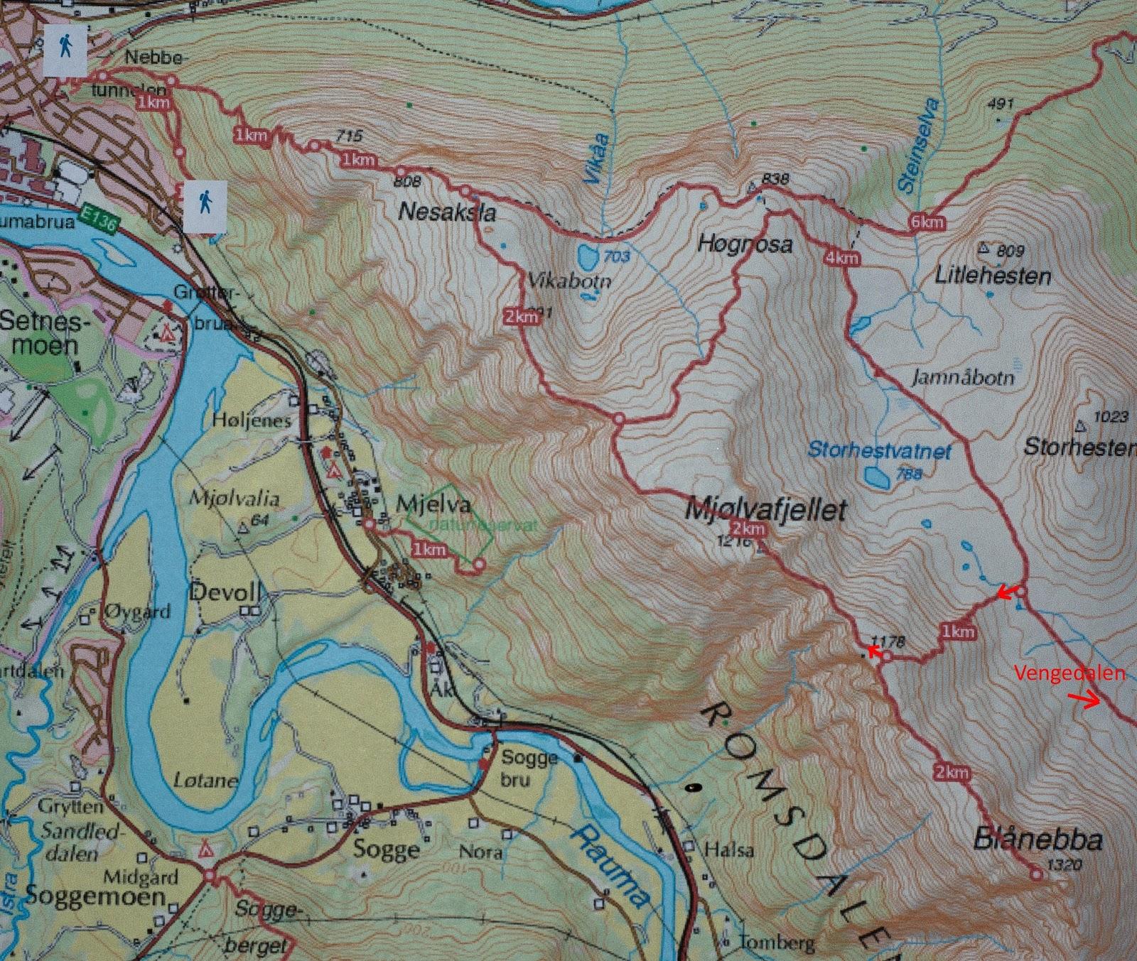 romsdalseggen kart geima#natur: Romsdalseggen (normalruta) og Blånebba (1320). 24.09.17. romsdalseggen kart