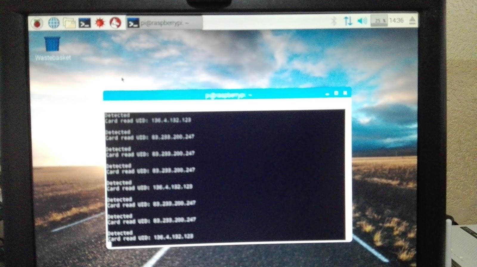 Lectura de Datos Modulo Rfid Rc522 y Raspberry pi 2
