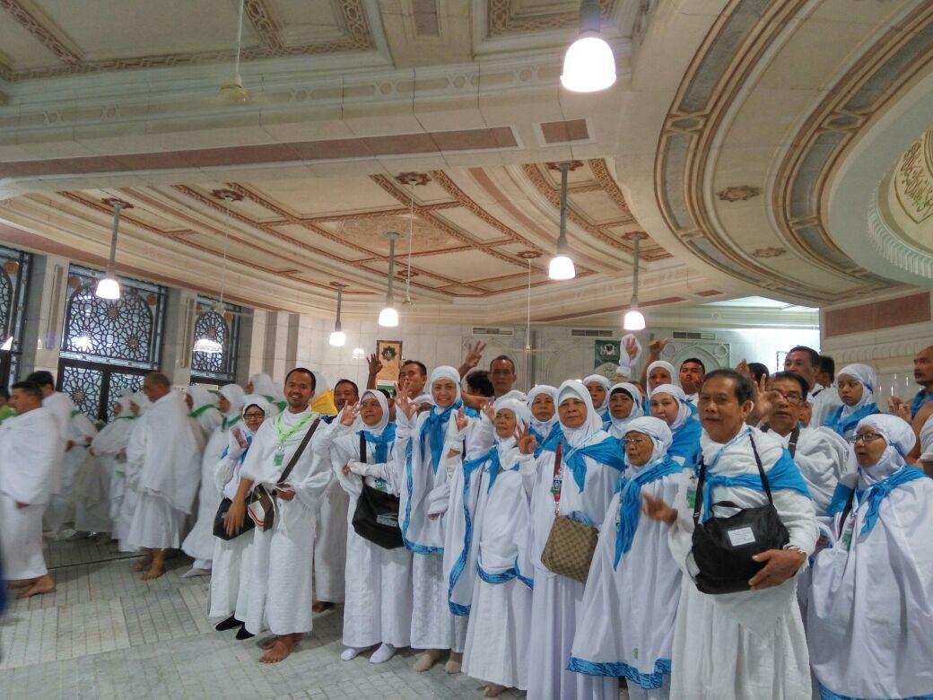Menuju Perjalanan Umrah November Alsha Tour