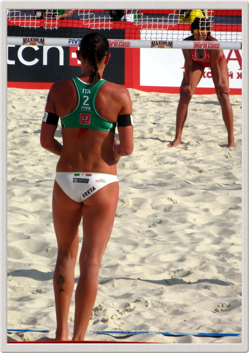 Beach Volleyball Player Greta Cicolari (ITA)