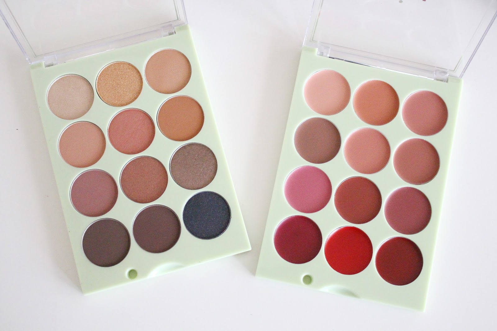 Pixi Beauty ItsJudyTime ItsEyetime Eyeshadow ItsLipTime Palettes swatch review