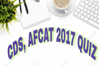 CDS, AFCAT 2017 English Synonyms Quiz