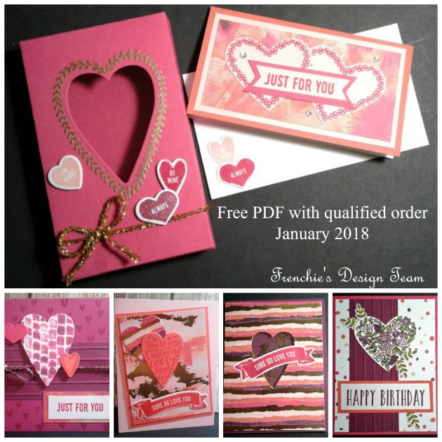 Frenchie's Team Design Team,So Do Love You, Heart Happiness, Free Download Stamping instruction
