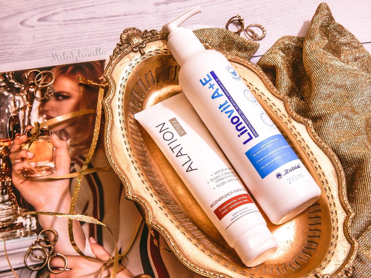 3 ziołolek Linovit a + e dermatologiczny żel do mycia z witaminami  recenzja opinia działanie żel produkty do skóry alergicznej mieszanej atopowej trudnej wrażliwej