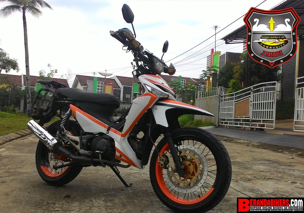 Berandabikers Com Kopdar Online Bikers Indonesia Modifikasi Honda Supra X 125 Menjadi Supermoto Racun Para Pengguna Motor Bebek