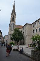 Saint-Antonin-Noble-Val. Església i convent de Santa Genoveva
