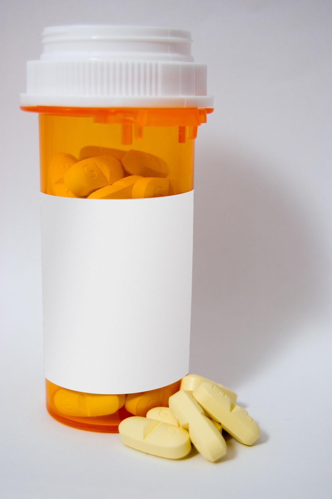 Blank Pill Bottle