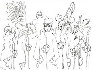tobi and deidara coloring pages - photo#41