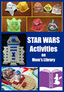 Star Wars Activities from Mom's Library