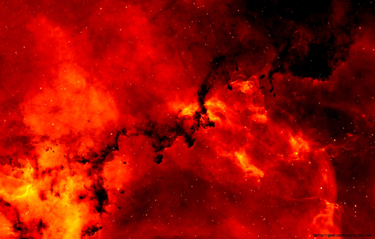 Red Space Wallpaper 1920x1080 Amazing Wallpapers