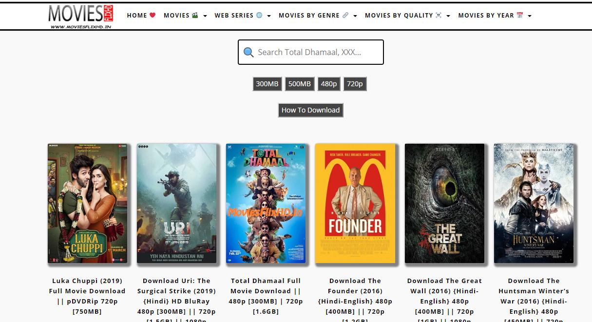 top ten movie download sites in india