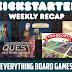 Kickstarter Recap - July 20, 2018