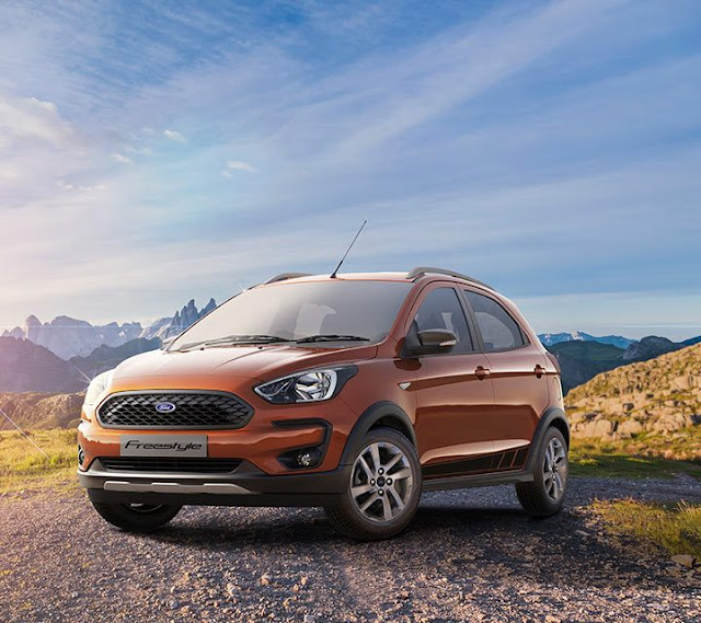 All-New Ford Freestyle Compact Utility Vehicle (CUV)