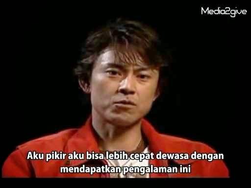 Interview Tetsuo Kurata (Kotaro Minami) 2006 Part 2 Subtitle Indonesia