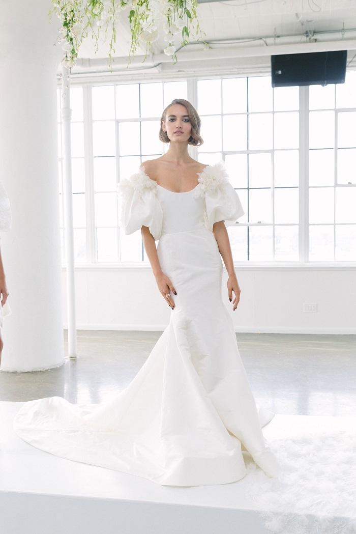 Marchesa Bridal Fall 2018 Collection at NYBFW