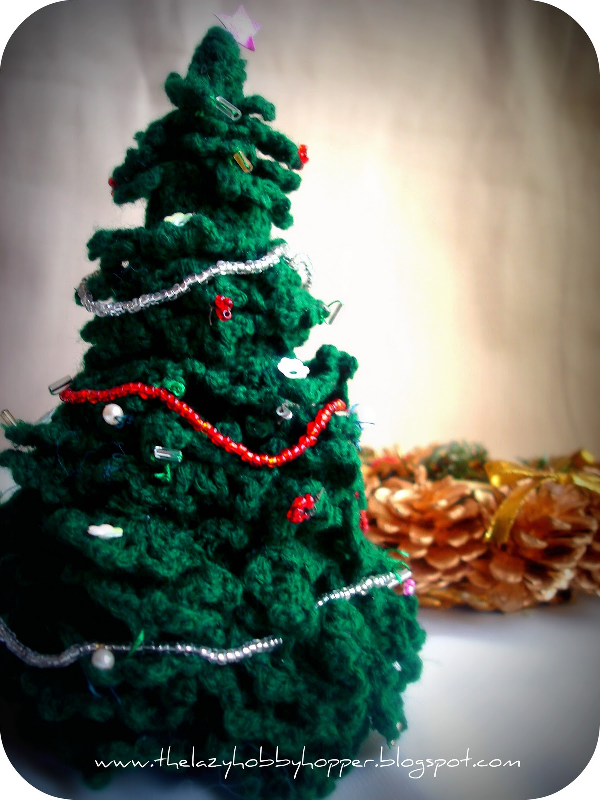 Crocheted christmas tree 55