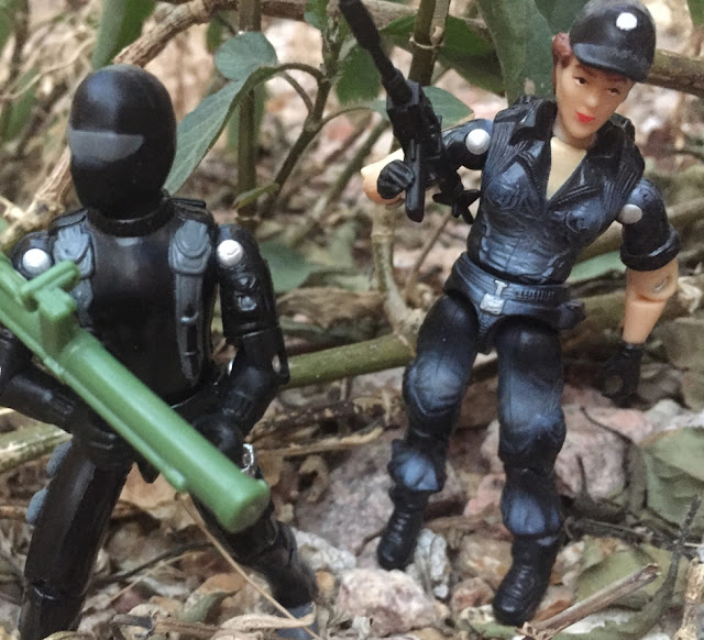 1997 Lady Jaye, Snake Eyes, Zap, TRU Exclusive, Stars & Stripes Set