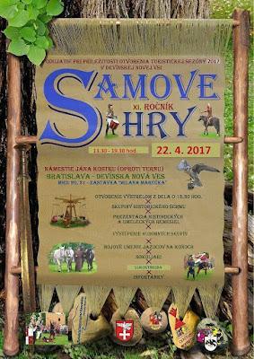 Una de ferias medievales, caballeros y pancakes:cartel de Samove Hry