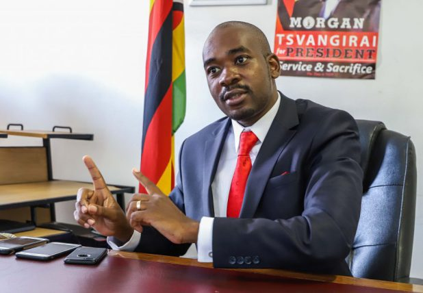 Brace For Protests, Chamisa Tells MPs
