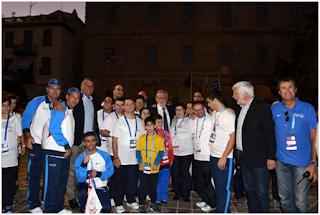 Ο Βασίλης Γραμματικός αθλητής της ποδηλασίας των Special Olympics Π.Ε. Εύβοιας στους πανελλαδικούς