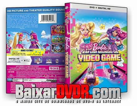Barbie Em Um Mundo de Video Game (2017) DVD-R OFICIAL