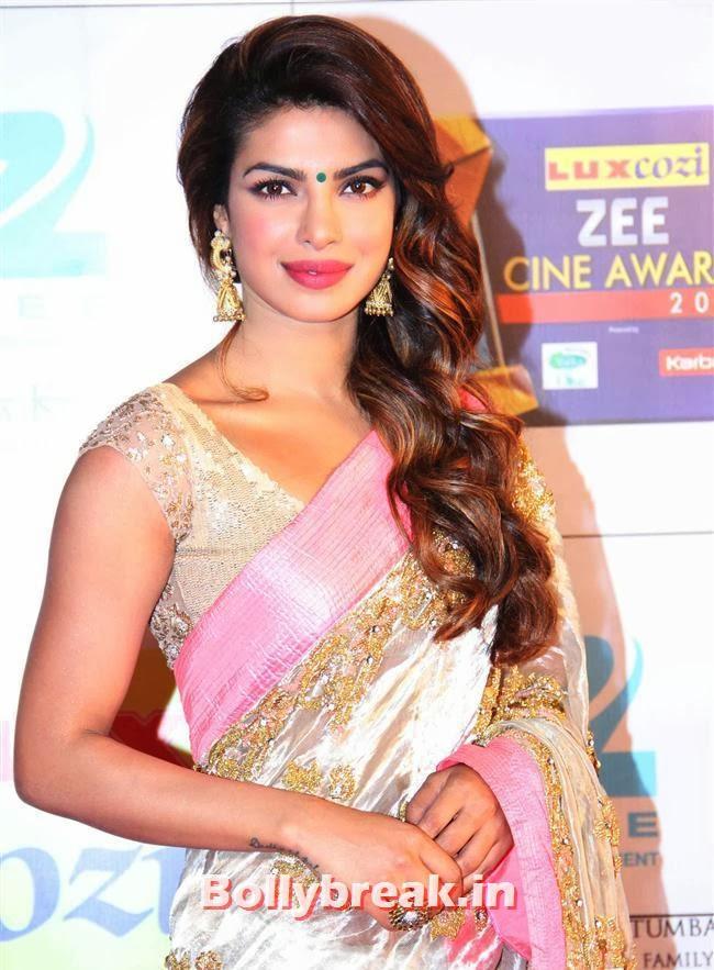 Priyanka Chopra, Zee Cine Awards 2014 Red Carpet Pics