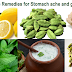 Home remedies for stomach ache and gas