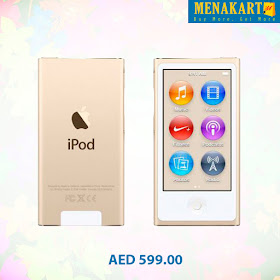 Online Shopping in Dubai: Upto 25% OFF on Apple iPod Nano Online UAE
