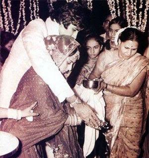 Amitabh-Bachchan-&-Jaya-Bachchan-wedding-rituals