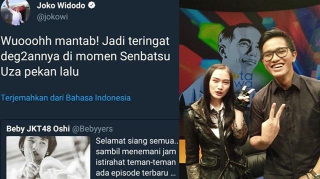 Heboh Admin Twitter Jokowi Berkicau Soal JKT48, Kaesang Pangarep Malah Dituduh