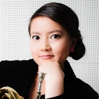 French horn player Mimisu Lee.
