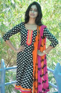 Actress Shruti Mol Stills in Salwar Kameez at O Sthree Repu Raa Movie Success Meet  0014