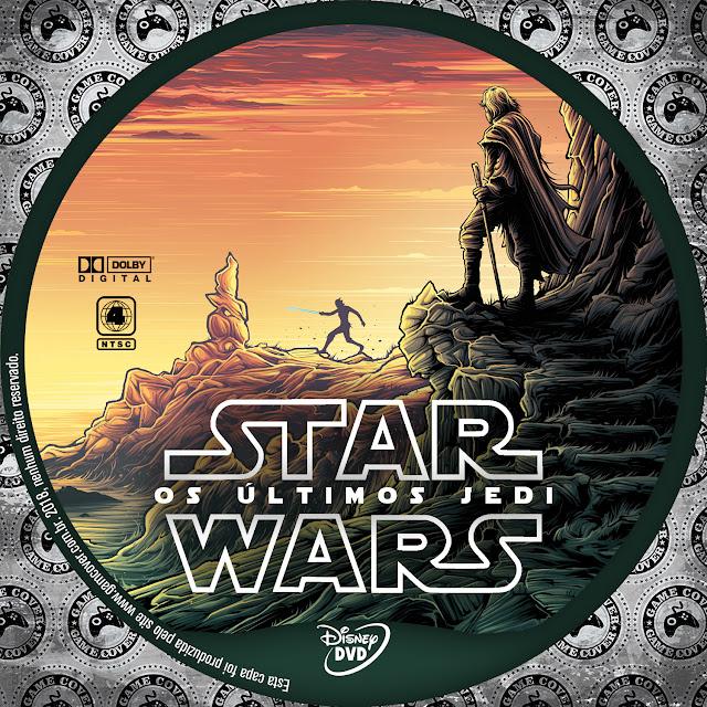 Label DVD Star Wars Os Últimos Jedi [Exclusiva]