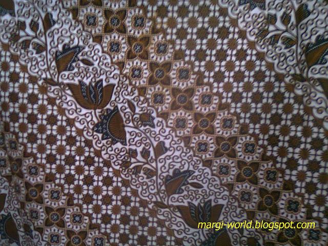 Contoh gambar desain batik klasik unik yang mengesankan