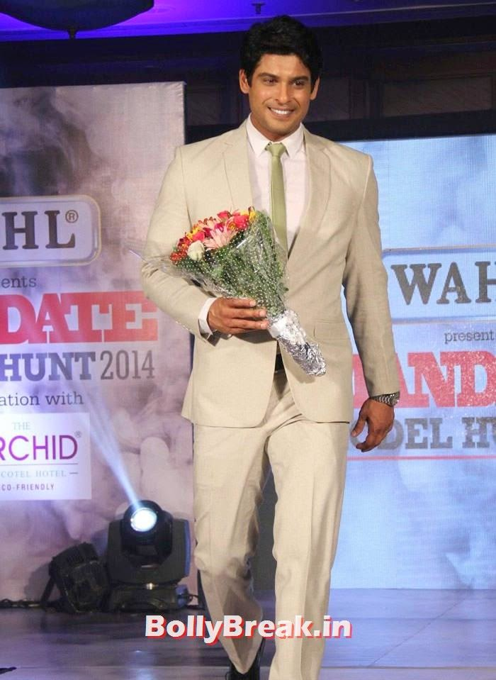 Siddharth Shukla, Mandate Model Hunt 2014 Grand Finale Photo Gallery