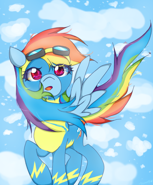 Wonderbolt Rainbow Dash