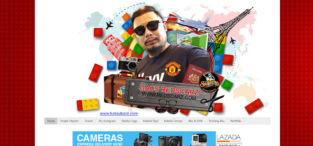 [ REVIEW BLOG ] BLOG REDSCARZ MILIK DAUS REDSCARZ !