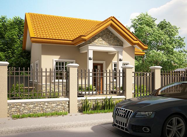 rumah minimalis satu lantai sederhana