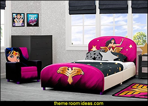 Delta Children Upholstered Twin Bed