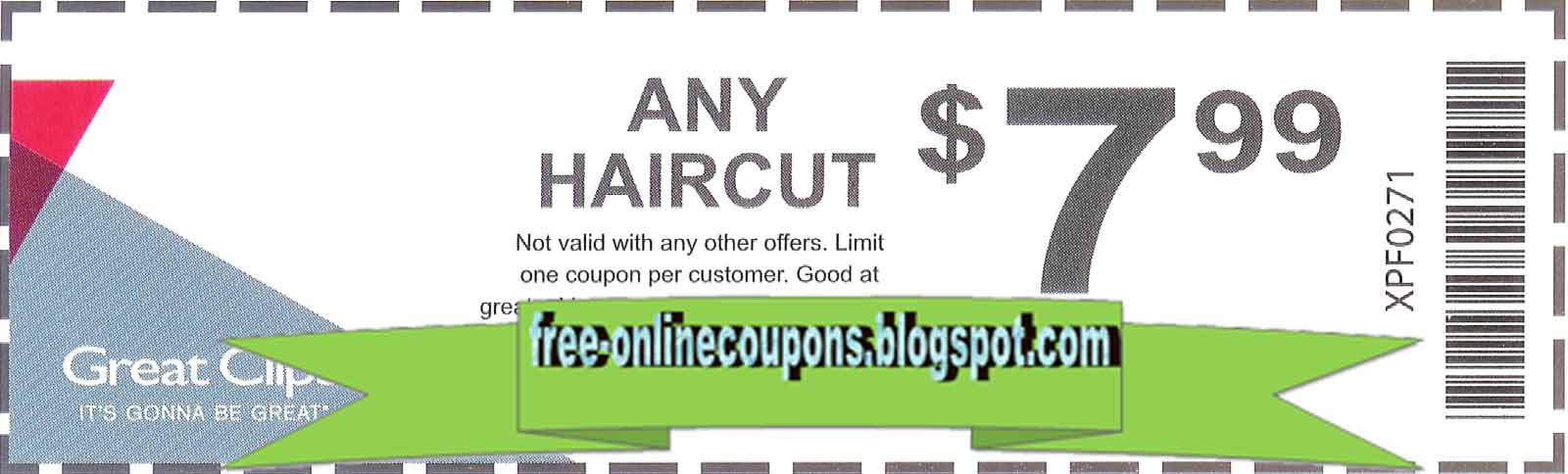 picture relating to Printable Great Clips Coupons named Best Clips Discount coupons 12222