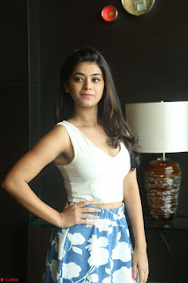 Yamini in Short Mini Skirt and Crop Sleeveless White Top 142.JPG