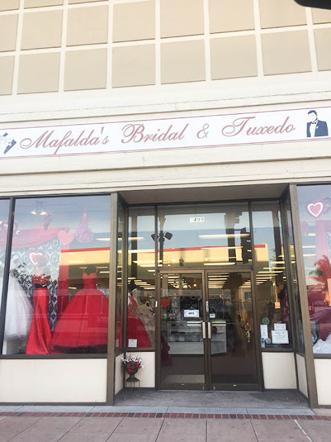 Mafalda's Bridal & Tuxedo Wedding Dress Shopping Experience