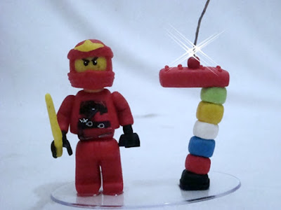 Ninjago Lego em biscuit