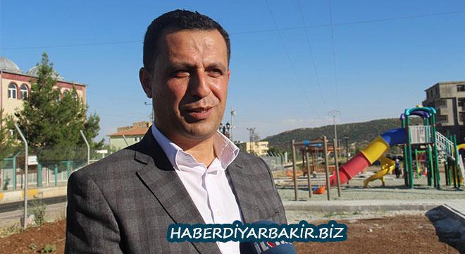 Diyarbakır Hani'de Yasin Börü parkı açıldı