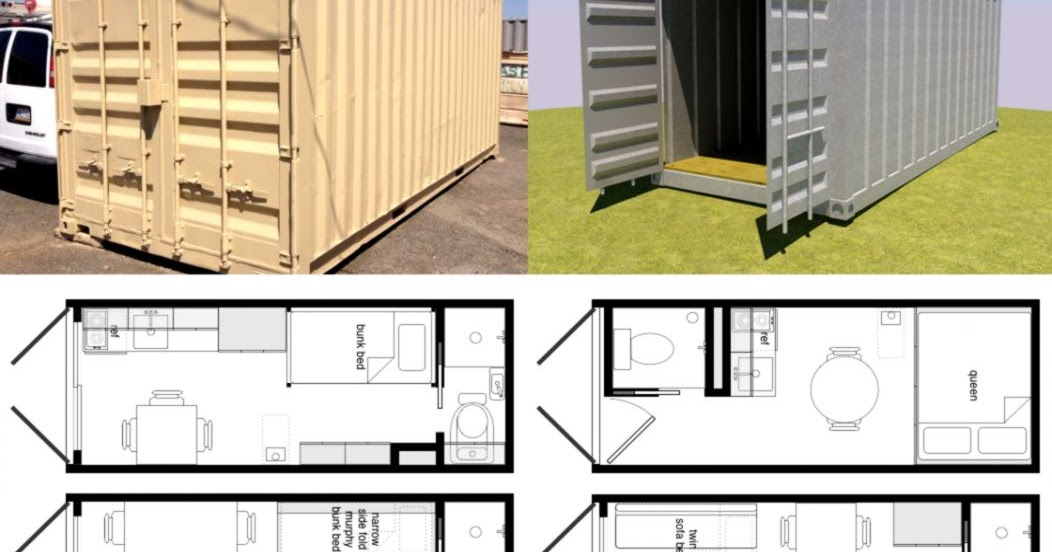 Container Home Floor Plans Designs