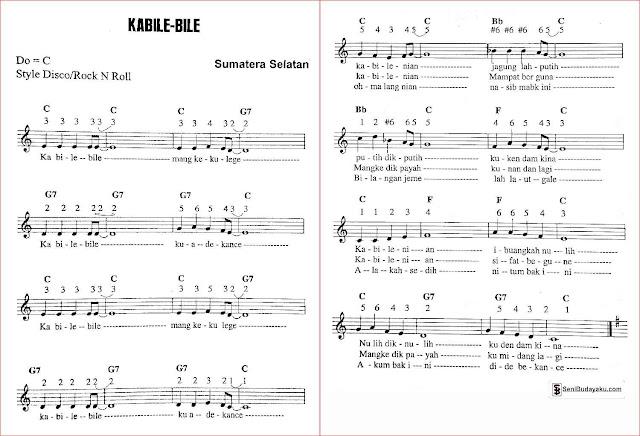gambar-lirik-dan-not-angka-lagu-kabile-bile-sumatera-selatan