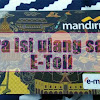 Cara Isi Saldo (Top Up) E-Toll Mandiri Via ATM